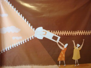 Transparencia-apertura-de Miriam Luchetto en Cordoba- Museo a los desaparecidos