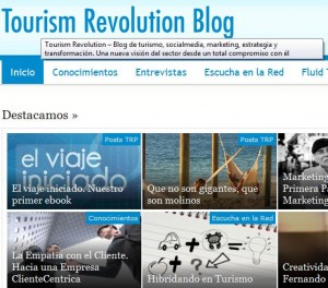 Tourism Revolution blog