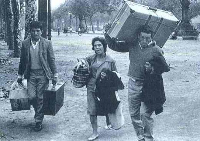 Resultado de imagen de Fotos de emigrantes